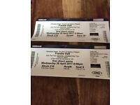2 x frankie valli tickets Leeds arena
