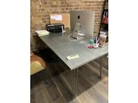 Metal Dining Table or Office Table