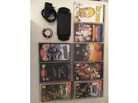 PSP + 7 games + 2 movies