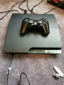 Ps3 slim with games