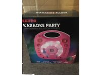 ION karaoke machine brand new but missing microphone