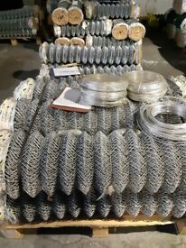 Galvanised Chainlink 50 x 2.5mm x 25m Rolls