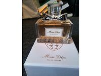 50 ml Miss Dior Eau De Parfum, never been used. Still have the box and tester