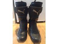 Puma Motorbike Boot Size:10