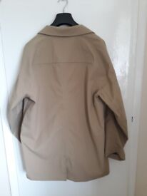 3/4 legnth Timberland coat, waterproof. Size large, never worn (BNWT).