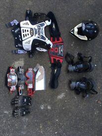 Full moto cross gear