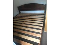 Big Table super king size bed frame, good condition
