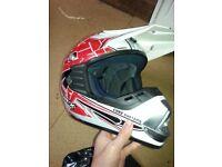 Nice motorcyle helmet