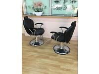 Beauty chairs and waxing table for sale