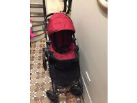 City Select by Baby Jogger double pushchair