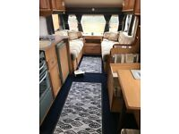 Avondale Argente 4 berth touring caravan with awning