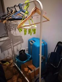 Laundry Rack and Hangers