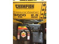 Champion pressure washer
