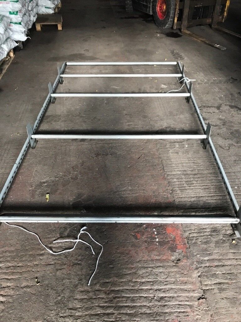 Roof rack for vivaro traffic swb all bolts etc here to fit can be fitted