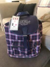 Jack wills rucksack full of products