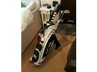 Sun mountain Golf bag and clubs. Titleist taylor made