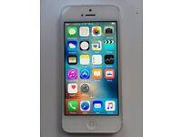 iPhone 5 32gb White Unlocked