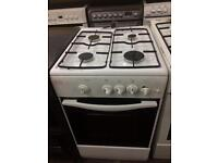 White swan 50cm gas cooker grill & oven good condition with guarantee