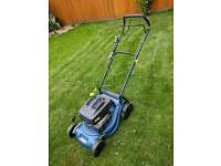 Challenge Xtreme Petrol Mower with grass box spares repairs