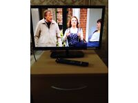 LOGIK 23INCH LCD TV WITH BUILT IN DVD PLAYER..EXCELLENT CONDITION..£55