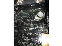 i7 6700k CPU + Coolermaster Hyper 212 cooler