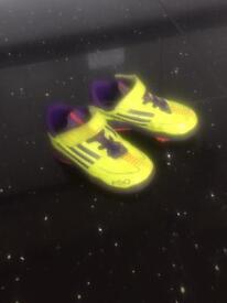 Adidas neon football boots uk6