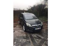 Vauxhall zafira 1.9 cdti 2008 , low miles, Mot + tax