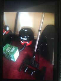 Henry for sale with two sets of bags and attachments