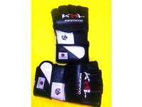 Genuine Cowhide Leather MMA Grappling Gloves