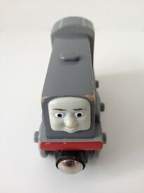 Thomas and Friends Rare Wooden Dennis Train Engine £4