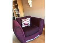 gone pending collection - Free one and three seater sofa