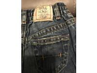 Baby boys polo jeans