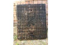** New (unused) Manhole / Drain Cover. Ductile Cast Iron **