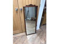 Solid Wood Tall Mirror
