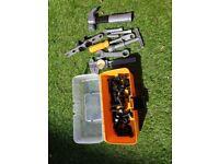 JCB kids toy tool box