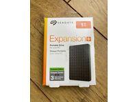 Brand New Seagate 1TB External Portable USB Drive - £40