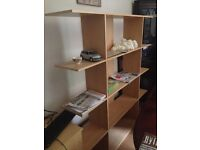Ikea Bookshelf/ Shelving Unit - freestanding