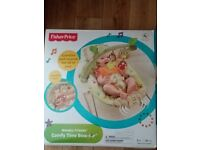 Fisher Price Woodsy Friends Comfy Time Bouncer BNIB retails from £34.99
