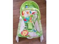 Fisherprice infant to toddler portable rocker