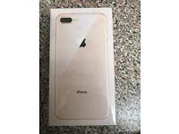 Apple iPhone 8 gold 64gb 02 + tesco + giff giff Sailed