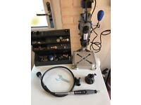 Dremel multipro 395 stand 220 & accesories