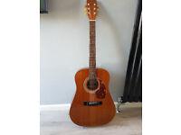 rare hondo acoustic guitar