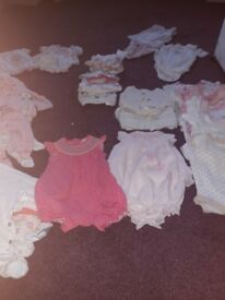0 to 3 months baby girl bundle