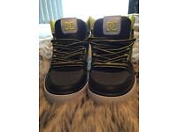 Dc trainers brand new size 7 high tops