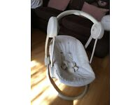 Mamas and papas musical baby swing