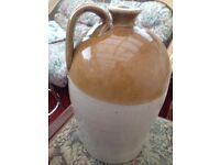 Vintage Collectible Flagon Jug Brewing Stoneware