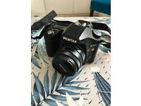 Pentax K200 with 50mm lens auto focus