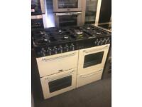 Graded belling 1000 dual fuel range cooker
