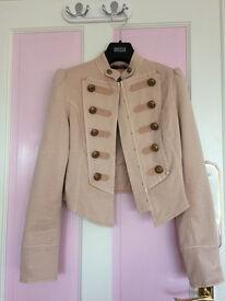 New - girl's military jacket, UK size 6
