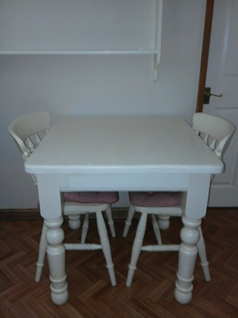 Small square solid pine farmhouse kitchen table 80cms /80cms ...